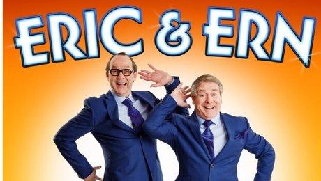 Ian Ashpitel & Jonty Stephens as Eric & Ern at Richmond Theatre
