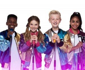 KIDZ BOP UK l-r Ashton, Mia, Max, Twinkle.