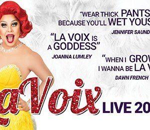La Voix - The UK's Funniest Red Head! at Aylesbury Waterside Theatre
