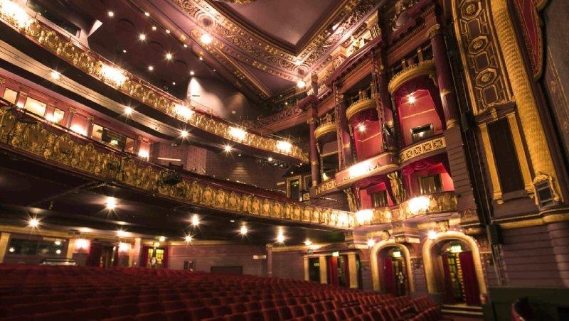 Manchester Palace Theatre Auditorium
