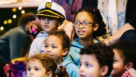 Polka Theatre Presents: A Treasure Chest of Stories Workshop for 2 to 3 years at Studio at New Wimbledon Theatre