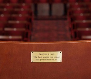 Seat Dedication at Edinburgh Playhouse