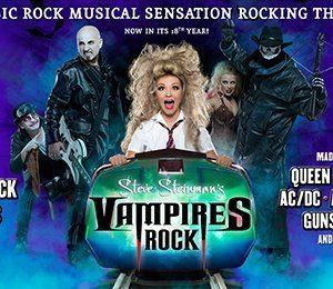 Steve Steinman's Vampires Rock - Ghost Train at The Alexandra Theatre, Birmingham