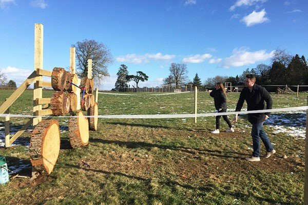 Axe Throwing for Two at Devon Country Pursuits