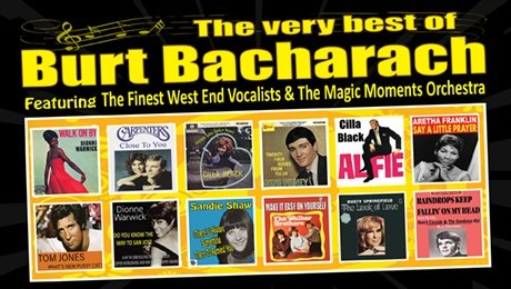 Back to Bacharach at Grand Opera House York