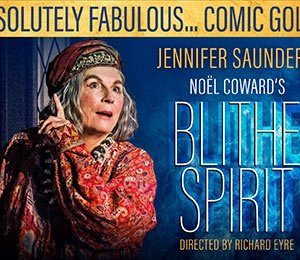 Blithe Spirit - ATG Theatre Card - Post Show Event at Duke of York's