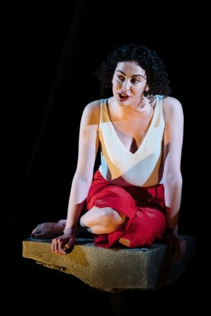Breffni Holahan plays Essie in 'Collapsible'. Photo credit Helen Murray.