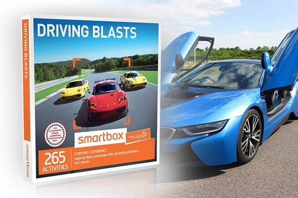 Driving Blasts - Smartbox by Buyagift