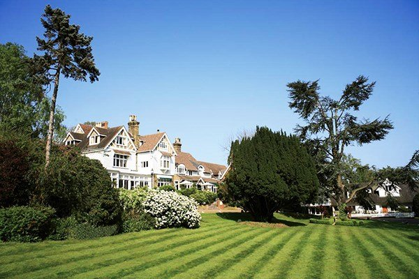 Express Spa Day with Treatment and Lunch at Rowhill Grange for One