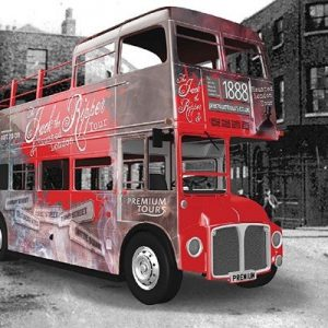 Haunted Jack the Ripper London Vintage Bus Tour for Two