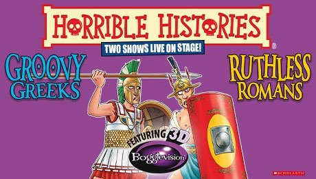 Horrible Histories - Groovy Greeks at Theatre Royal Brighton