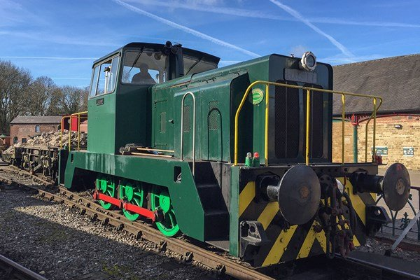 Introductory Diesel Train Driving Experience on the Elsecar Heritage Railway
