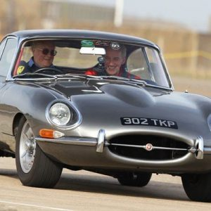 Jaguar E Type and Austin Healey Driving Thrill