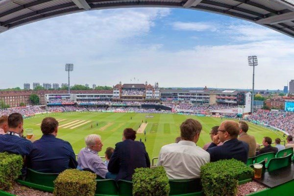 Kia Oval Cricket Match and Ground Tour with Afternoon Tea for Two