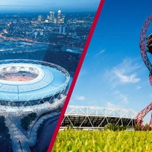 London Stadium Tour and The ArcelorMittal Orbit View for Two