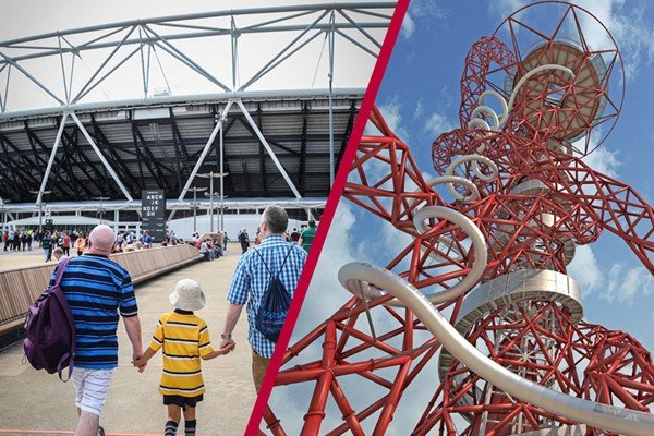London Stadium Tour and The Slide at The ArcelorMittal Orbit - Family Ticket