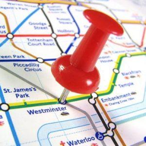 London Underground Treasure Hunt for Four