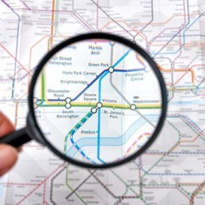 London Underground Treasure Hunt for Two