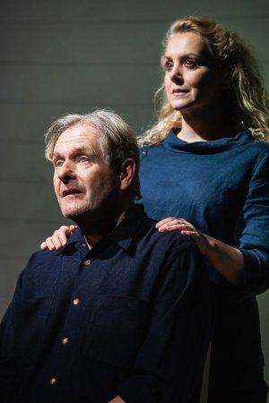 Robert Bathurst and Rebecca Johnson, Love, Loss & Chianti (credit Alex Harvey-Brown).