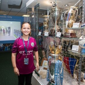 Manchester City Etihad Stadium Tour for One Child