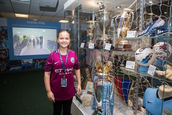 Manchester City Etihad Stadium Tour for One Child