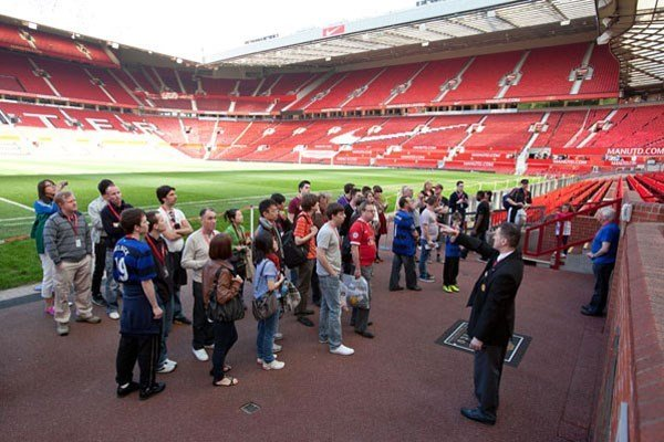 Manchester United Old Trafford Stadium Tour for Family of Four