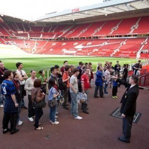 Manchester United Old Trafford Stadium Tour for One Adult and One Child