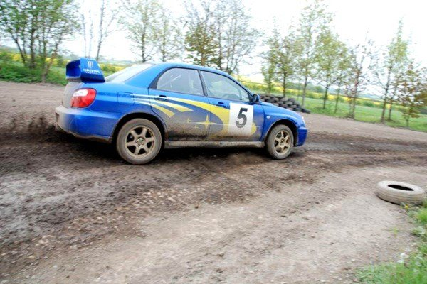 One to One Rally Driving Tuition at London Rally School for One