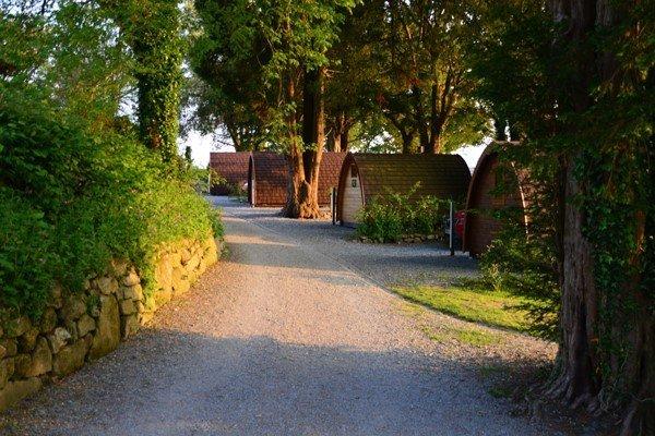 Overnight Family Camping Pod Getaway in Devon