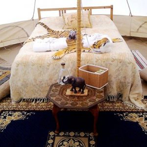 Overnight Stay in Bell Tent in Dorset for Two at Dorset Country Holidays