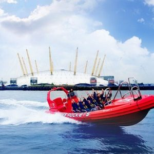 River Thames Extended High Speed Boat Ride for Two