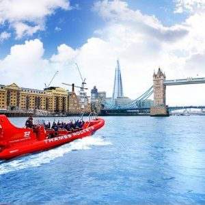 River Thames High Speed Boat Ride for Two Adults