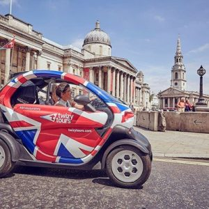 Rule Britannia Self-Driven Tour of London with Twizy Tours