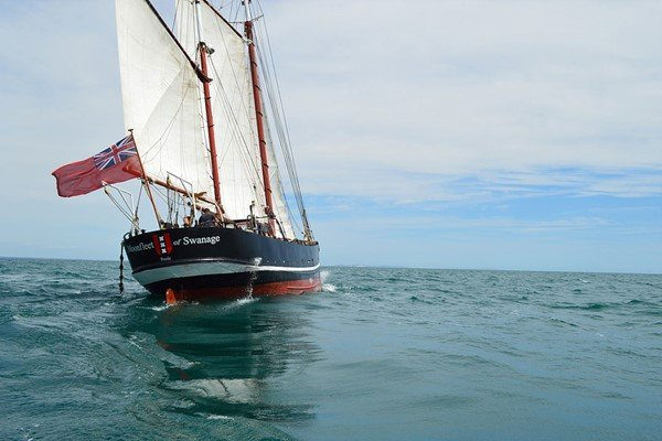 Six Hour Sailing Trip on a Tall Ship in Dorset for Two