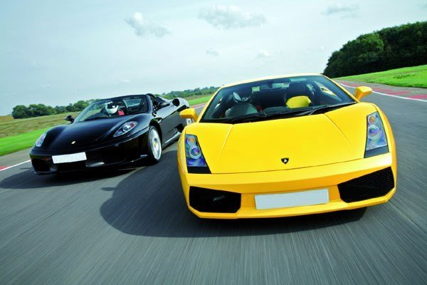 Supercar Driving Thrill with Passenger Ride