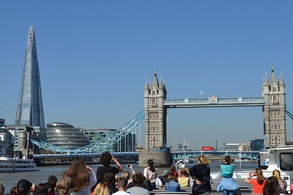 Thames Sightseeing Cruise River Red Rover Pass for Two