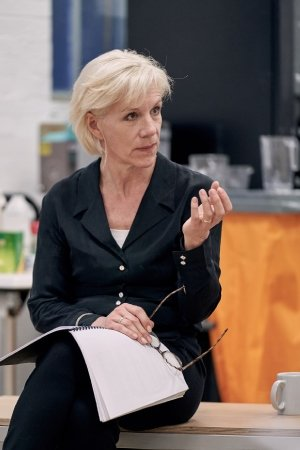 Rehearsal Images - The Doctor - Juliet Stevenson - Photos by Manuel Harlan.
