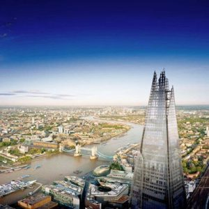 The View from The Shard - Two Adults and One Child
