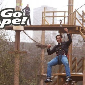 Tree Top Challenge in London for Two Adults at Go Ape