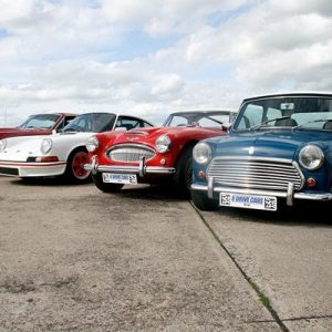 Triple Classic British Car Driving Blast