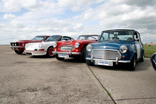 Triple Classic British Car Driving Blast