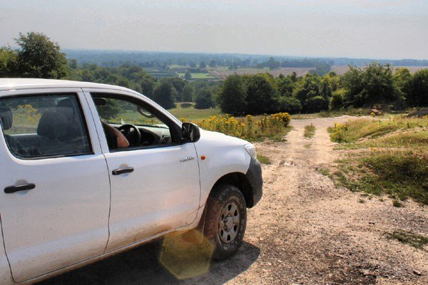 Two Hour One-to-One Off Road Driving Experience in Kent