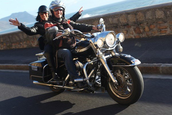 Two Hour Pillion Experience on a Classic Harley Davidson Motorcycle