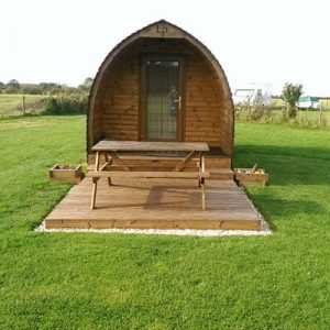 Two Night Stay in a Gothic Pod at Yapham Holds
