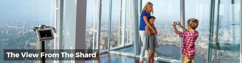 Book Tickets for The Shard