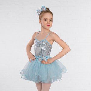 1st Position Candy Floss Sequin Glitz Dress
