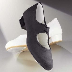 1st Position Canvas Low Heel Tap Shoes