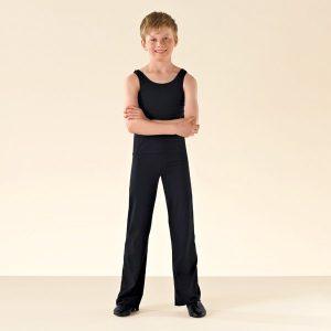 1st Position Jazz Pants Cotton (Black)