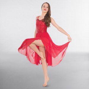 1st Position Long Sequin Lyrical Dress