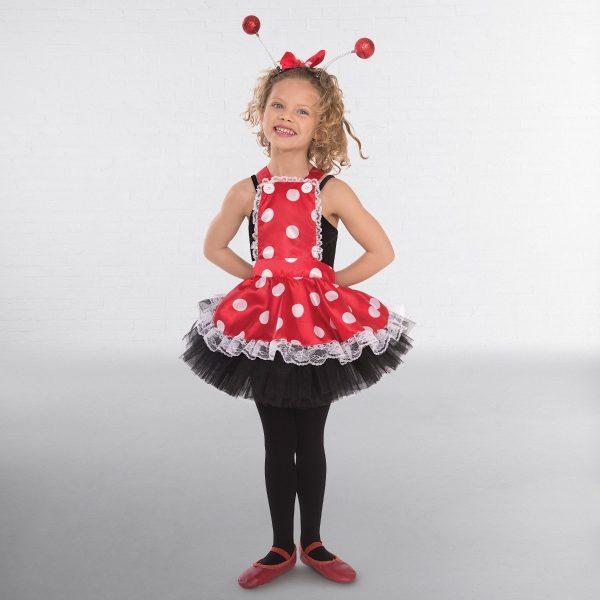 1st Position Polka Dot Pinafore Dress